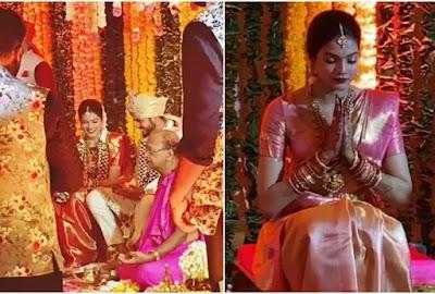 Cricketer Manish Pandey and Actress Ashrita ShettyMarriage