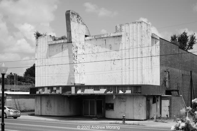 Joy Theater, Harrison St. (US 80), Rayville, Louisiana