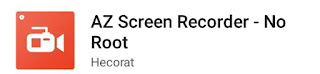 Mobile screen record Kare