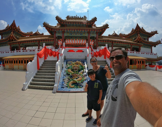 templo taoísta Thean Hou em Kuala Lumpur