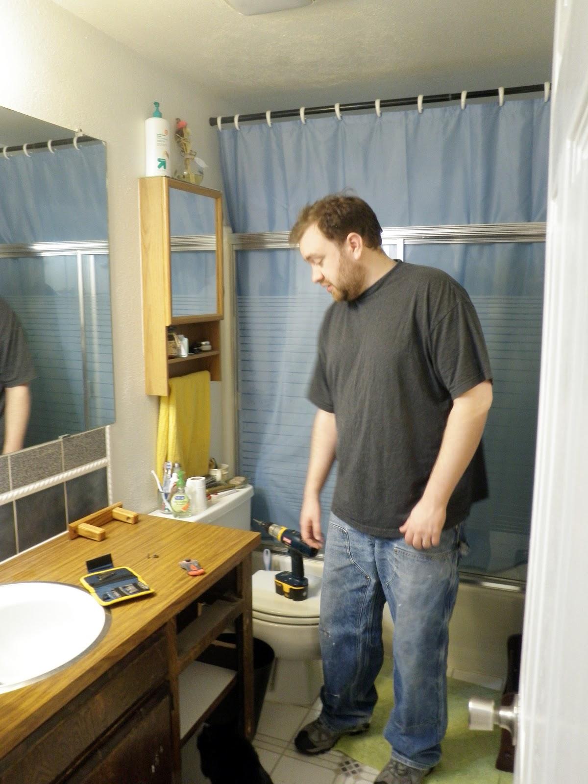 Homelifescience: Quickie Bathroom Remodel