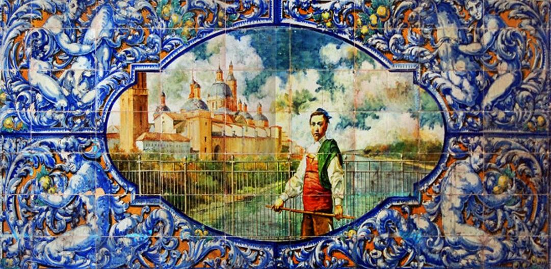 El balc n de san l zaro un azulejo de 1929 para la for La casa del azulejo san francisco
