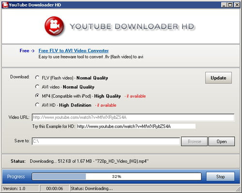YouTube Downloader HD for windows