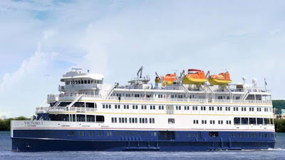 Vicotry 1 sails a New England Canada cruise from New York to Halifax in April 2020