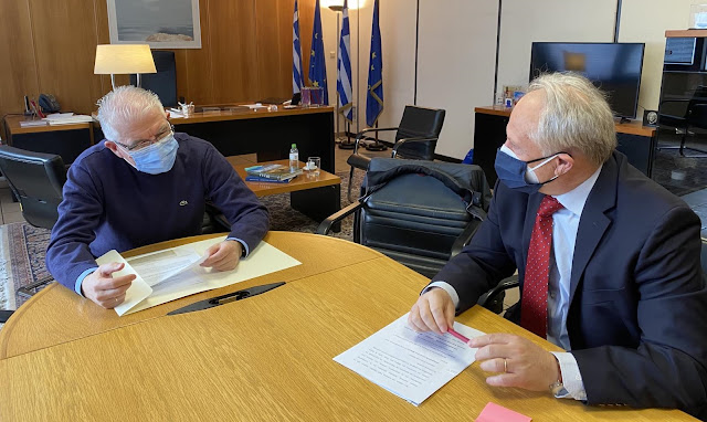 Συνάντηση Ανδριανού με τον Πρόεδρο ΕΛΓΑ για τις πρόσφατες ζημιές στην Αργολίδα