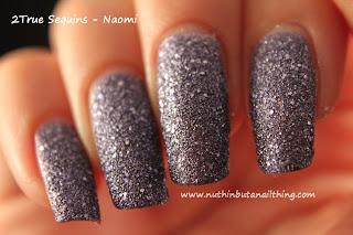2True Sequins Glitter Nail Polish