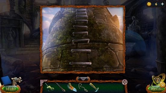поставлены скобы в виде лестницы на башне в игре затерянные земли 4 скиталец