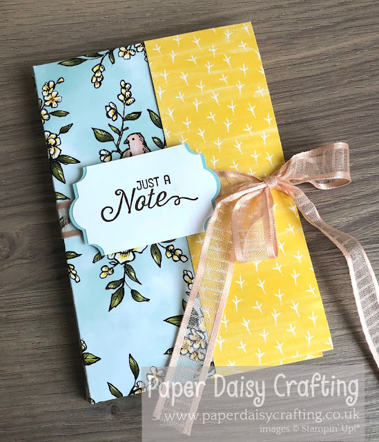 Bird Ballad Origami Card Case Stampin Up
