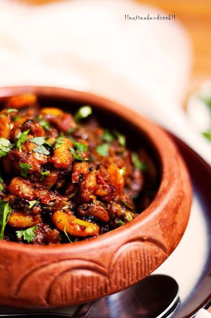 how to make Kolhapuri Jhinga Masala / jheenga Masala / Prawn Masala recipe and preparation