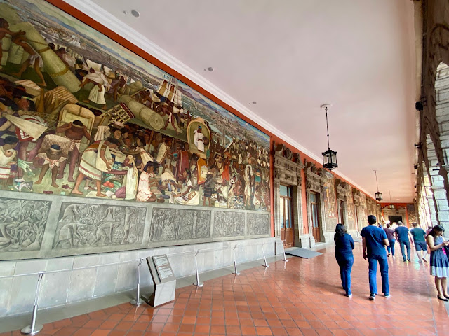Diego Rivera murals, National Palace, Mexico City, Mexico