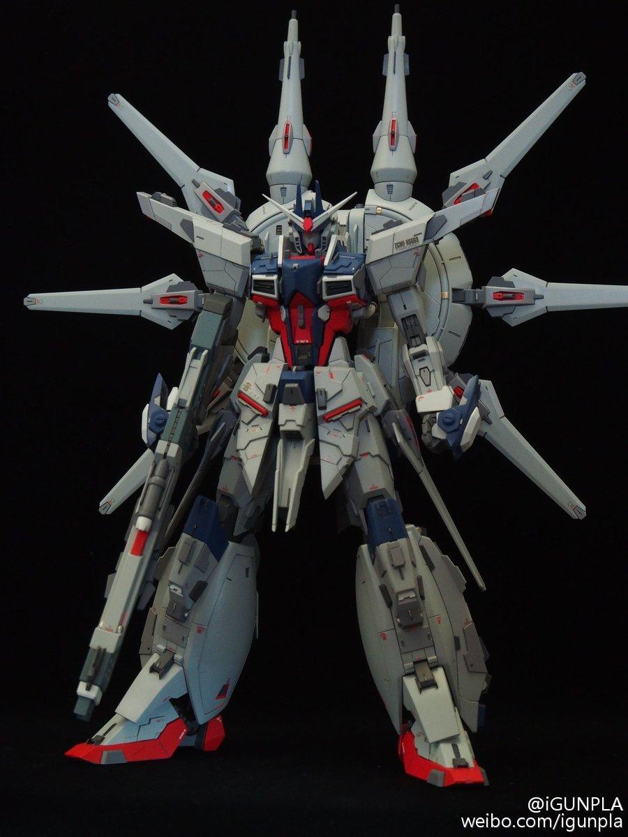 Custom Build: MG 1/100 Legend Gundam