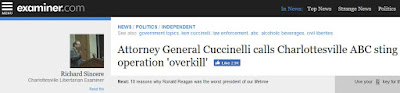 Ken Cuccinelli ABC sting Elizabeth Daly Charlottesville