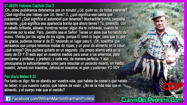 Un mensaje para ti Jovencito y Muchachita bonita - William Branham en Español