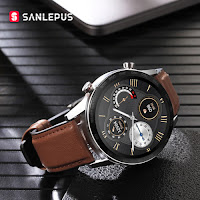 SANLEPUS ECG Smart Watch Bluetooth Call Smartwatch uomo donna