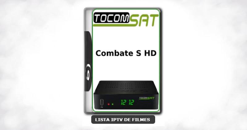 Tocomsat Combate S HD Nova Atualização Satélite SKS Keys 61w ON V1.96