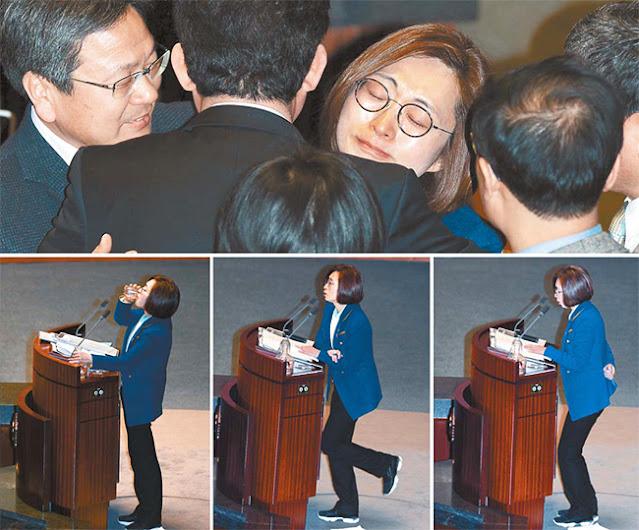Parlamentaria coreana incansable