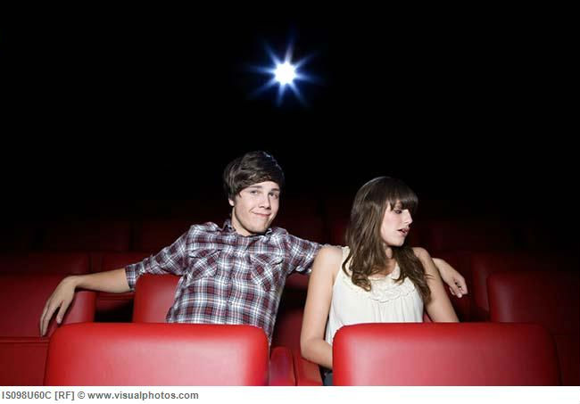 what to do on a first date at the movies