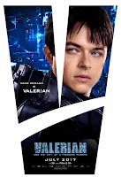 Valerian and the City of a Thousand Planets Movie Poster 11 Dane DeHaan as Valerian