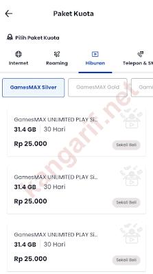 paket gamesmax unlimited play telkomsel