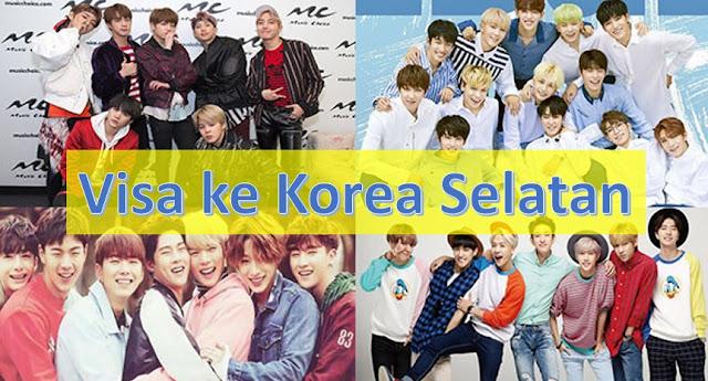 visa ke korea selatan