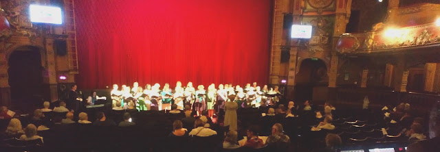WNO Women's Community Chorus at Hackney Empire