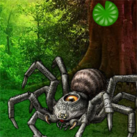 Play WowEscape Giant Spider Forest Escape