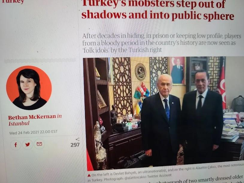 Οι Τούρκοι πολιτικοί μαφιόζοι βγαίνουν από το σκοτάδι στο …φως