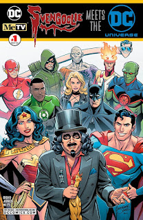 Cover of Svengoolie Meets the DC Universe #1 from DC Comics and MeTV