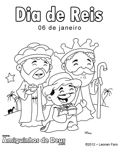 Dia De Reis Amiguinhos De Deus