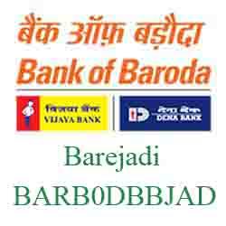 IFSC Code Dena Bank of Baroda Barejadi