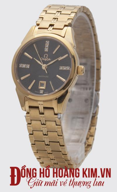 Đồng hồ omega nữ dây sắt cá tính