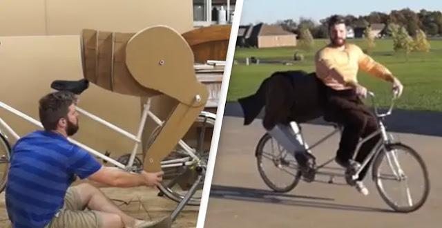 Mengganti Kursi Sepeda Dengan Pantat Kuda