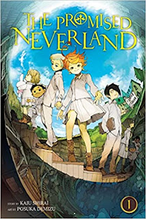 The Promised Neverland horror manga