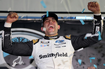 Aric Almirola Shakes Up #NASCAR Cup Playoff Standings With Unexpected Win at New Hampshire