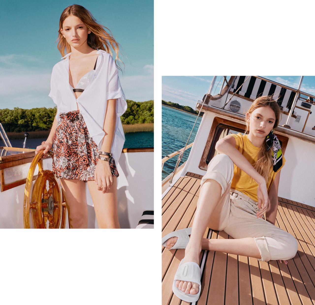 Minifaldas y shorts del verano 2020 de Kosiuko. Moda marcas argentinas verano 2020.