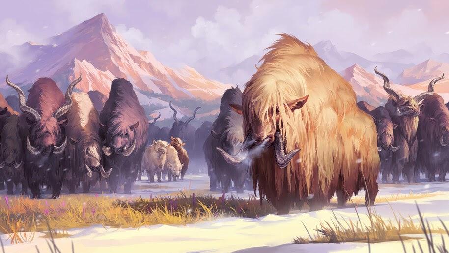 Troop of Elnuks, Legends of Runeterra, 4K, #3.1849