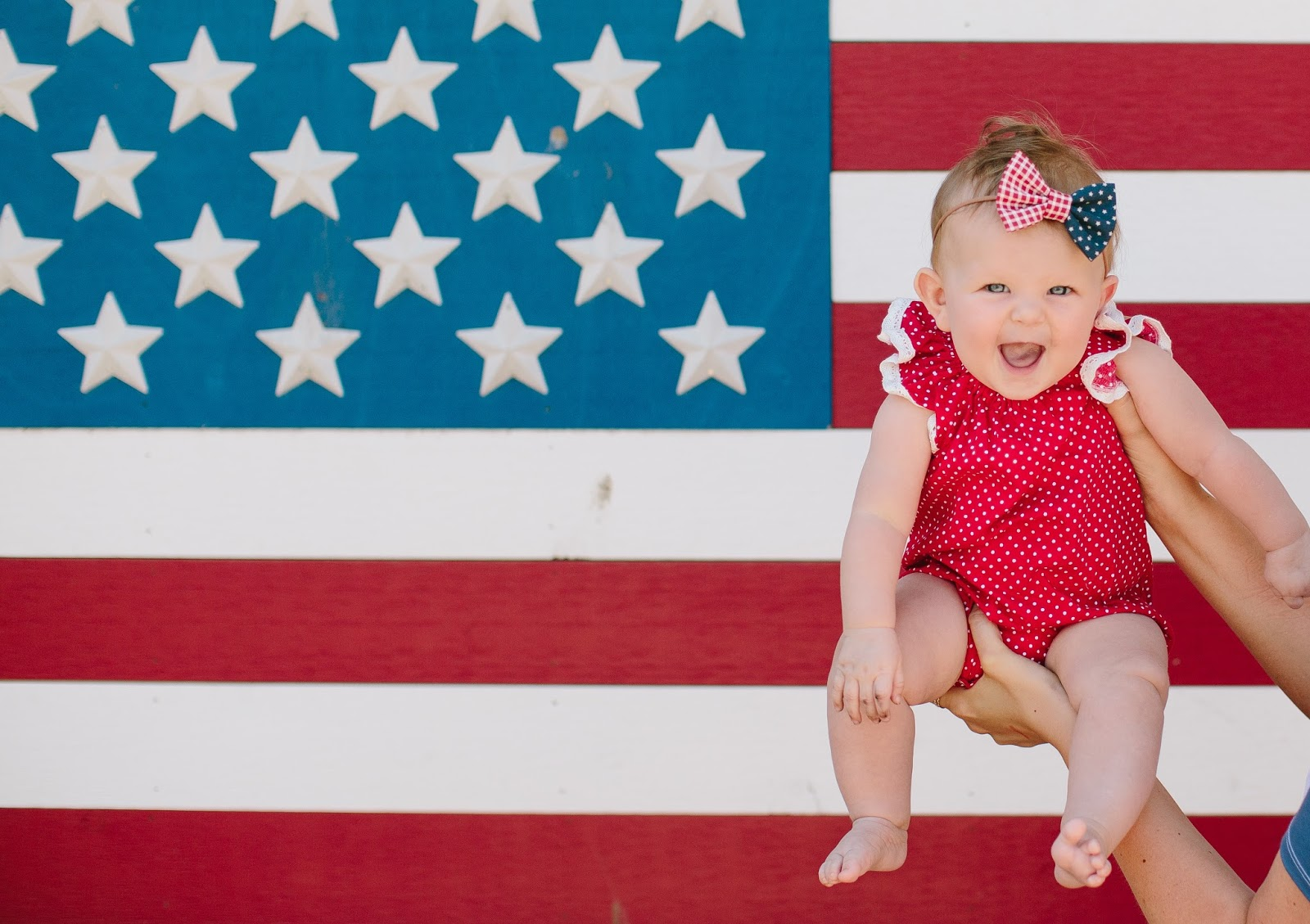 4th of July Baby Outfit, Lunaby Baby, America