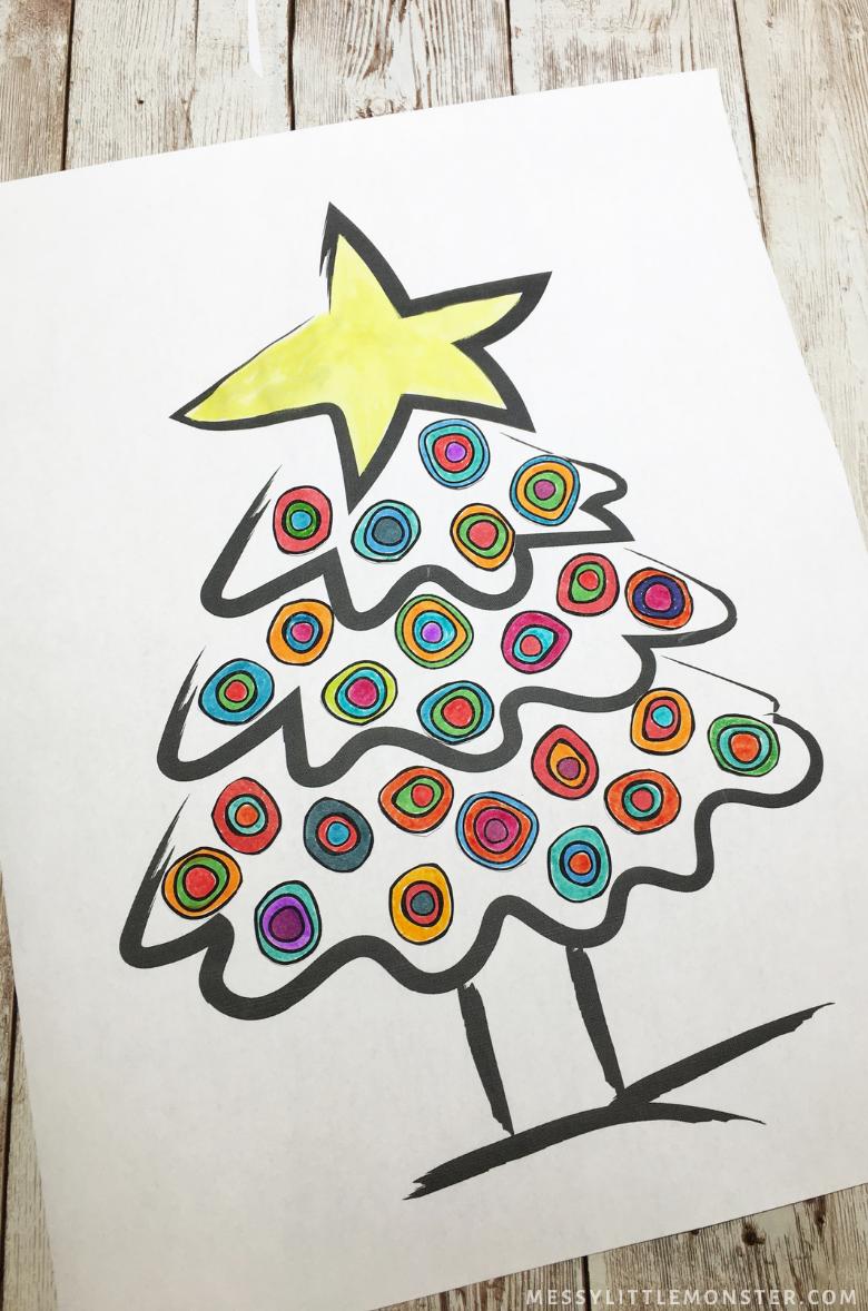 Kandinsky Christmas Tree