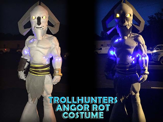 Angor Rot Trollhunters Costume Build