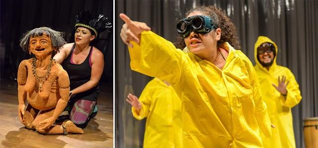 CIA Nu Escuro oferece aulas gratuitas de teatro