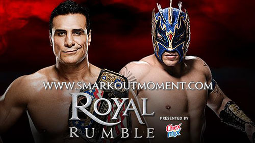 WWE Royal Rumble 2016 Kalisto vs Alberto Del Rio