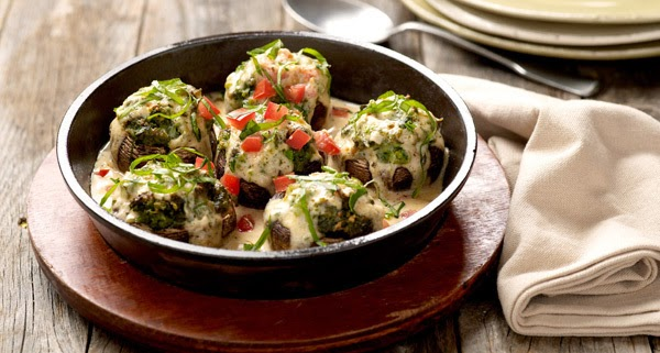 Cheesecake Factory Stuffed Mushrooms Recipe