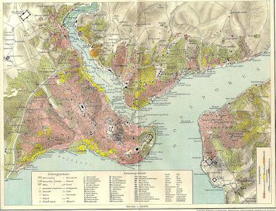 Mappa Istanbul 1893