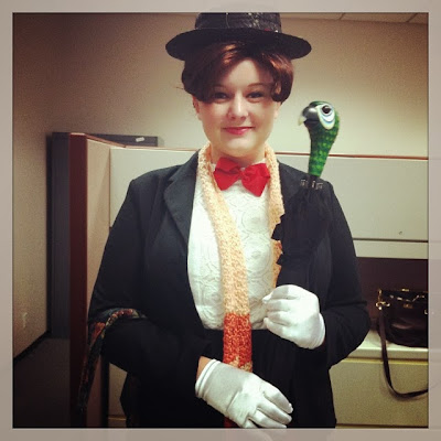Mary Poppins for Halloween!