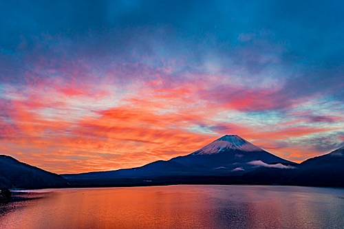 Famous destinations of Mount Fuji in the fall
