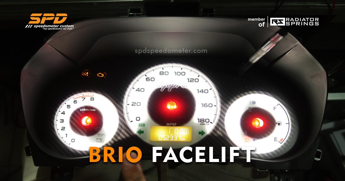 Panel Speedometer Brio RS