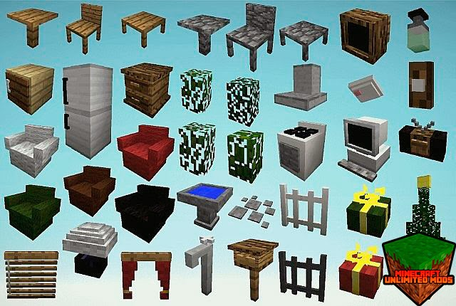 Mrcrayfish´s Furniture Mod all