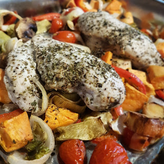 Slimming World Friendly Recipe  Chicken Tray Bake