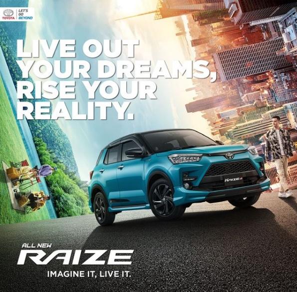 Harga Toyota All New Raize