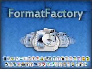 تحميل برنامج format factory المجاني لتحويل الصوت و الفيديو الصور و المستندات